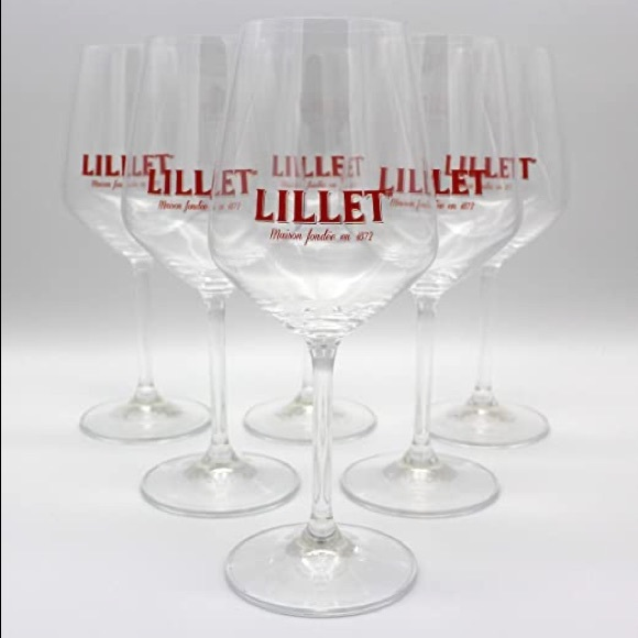 6 Lillet Spritz Glasses that are hard to find